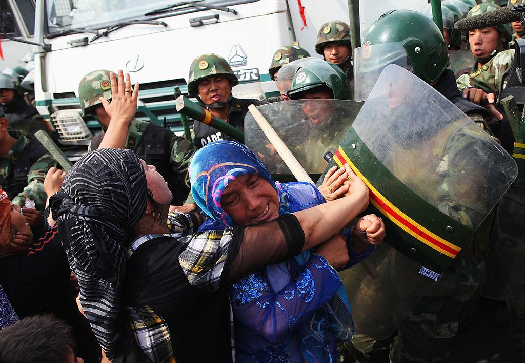La Chine s'en fout des droits de l'Homme, elle détruit les mosquées !