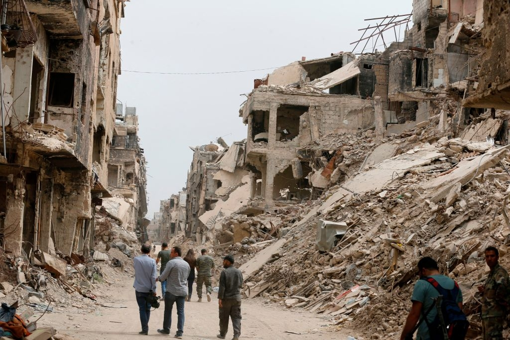 Palestinians in Syria: Another Year of Death and Misery